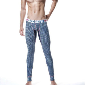 Seobean men's Newest thermal pants comfortable soft cotton long johns fashion male legging-iehrb