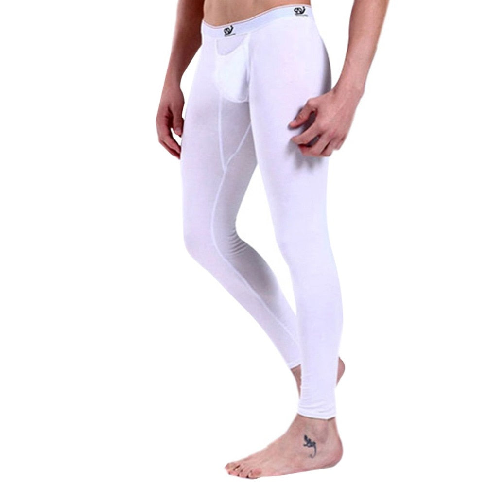 Men Long Johns Men's Warm Pants Male Soft Underwear-iehrb