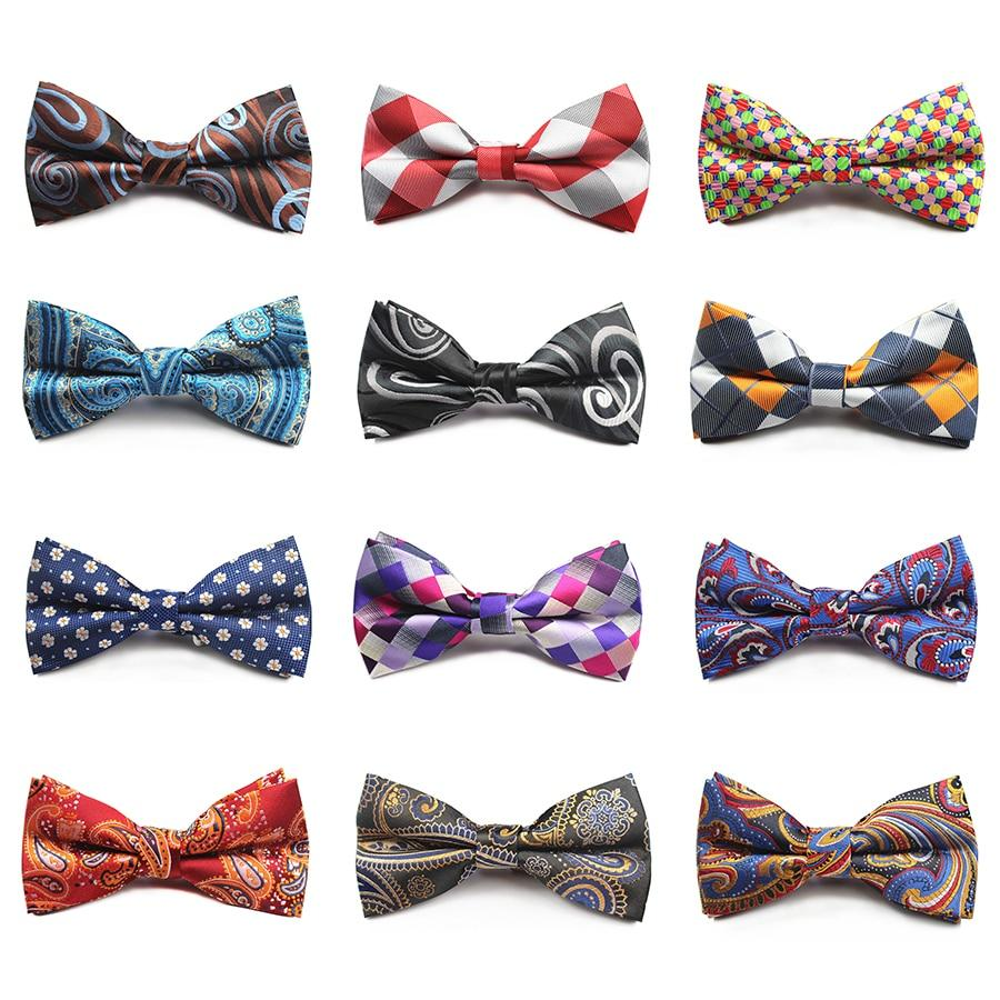 New Design Plaid Bow Tie Mens Necktie For Wedding Pajaritas Dressiehrb-iehrb