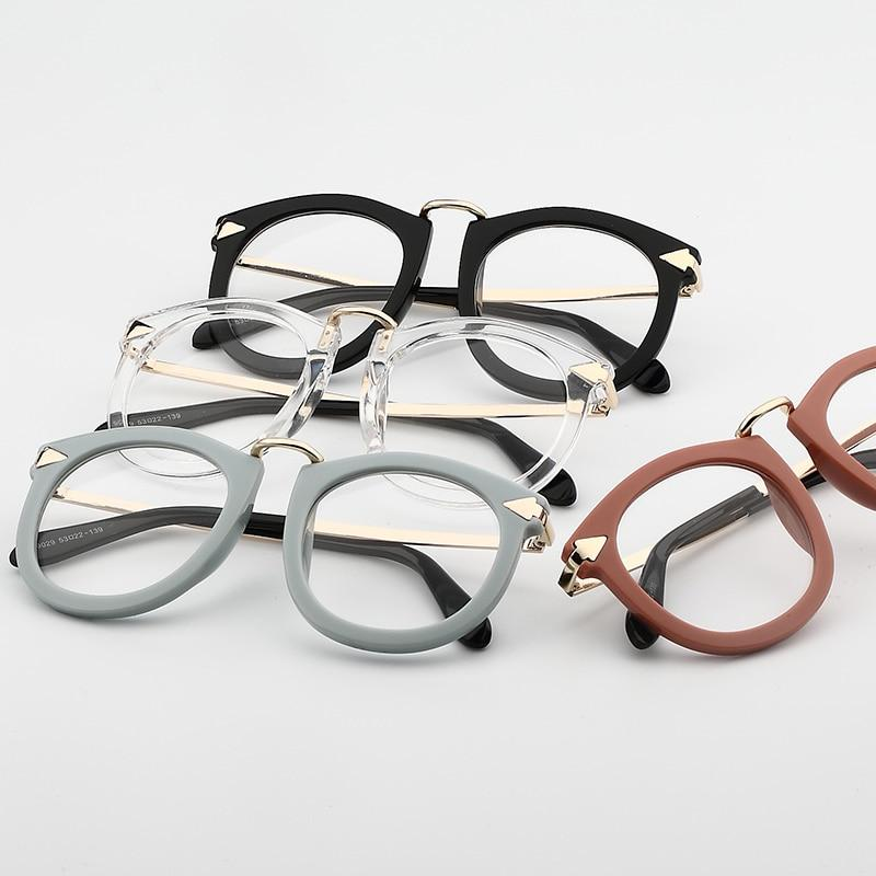 Vintage Decoration Optical Eyeglasses Frame myopia metal men women unisex spectacles eyeiehrb-iehrb