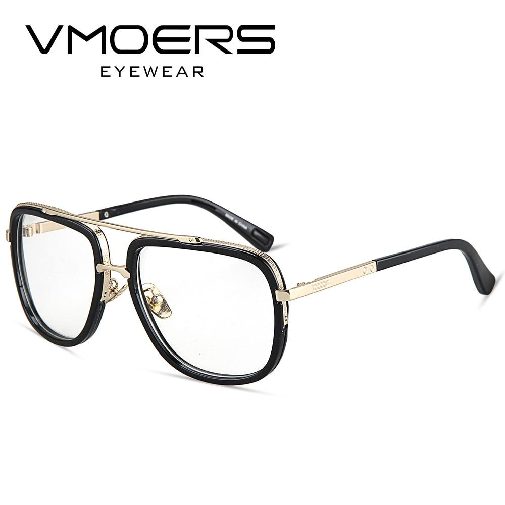 Square Eyeglass Frames Men Luxury Brand Fake Glasses Frame Male Opticaliehrb-iehrb