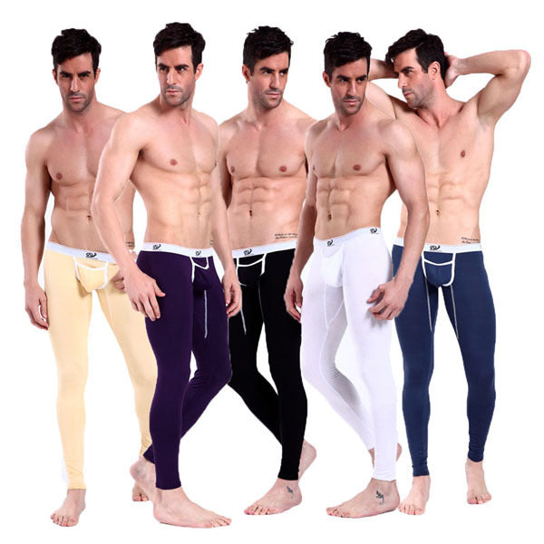 Stylish Men SEXY Thermal Long Johns Underwear NEW Pants 5 Colors S M L Size-iehrb