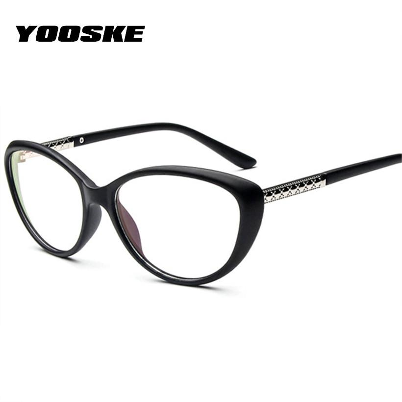 YOOSKE Women Retro Cat Eye Eyeglasses Spectacles Glasses Vintage Optical Glasses Frameiehrb-iehrb