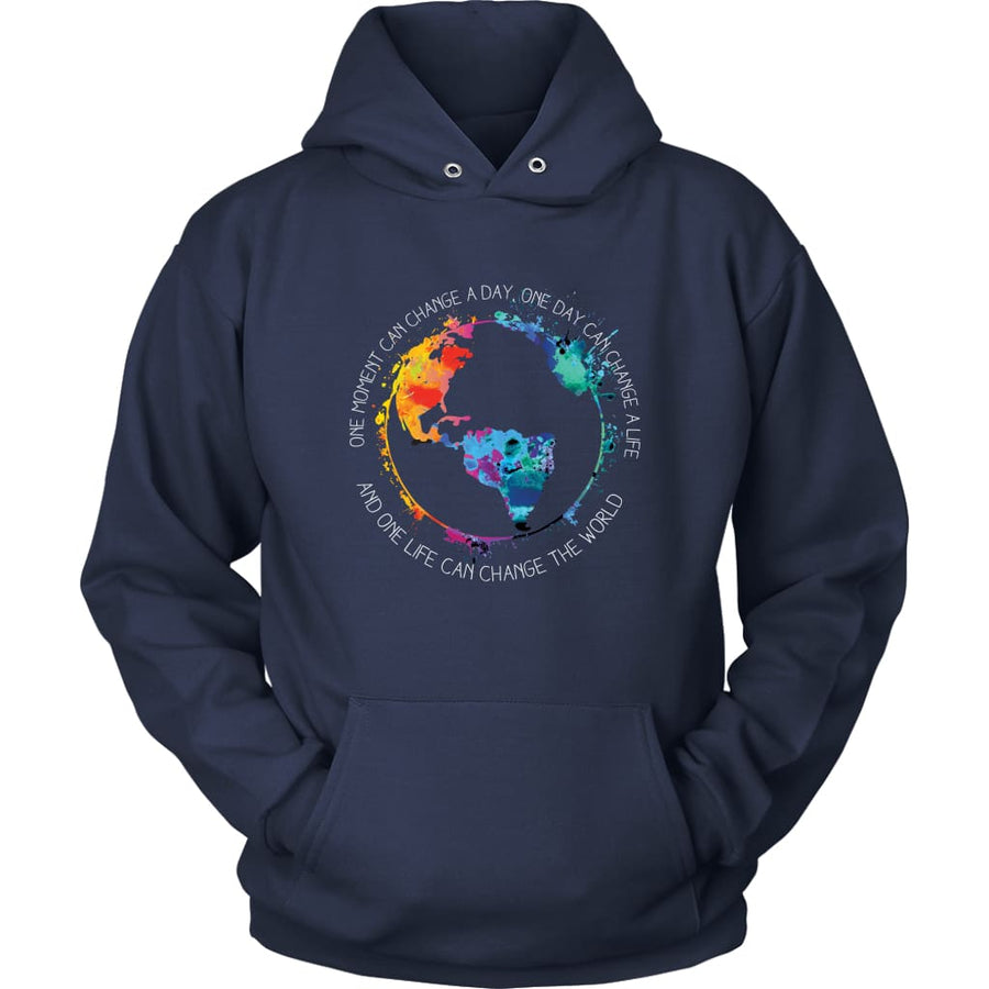 Change The World - Unisex Hoodie / Black / S - T-Shirt
