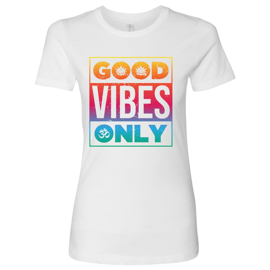 Good Vibes Only - Next Level Mens Shirt / Black / S - T-Shirt