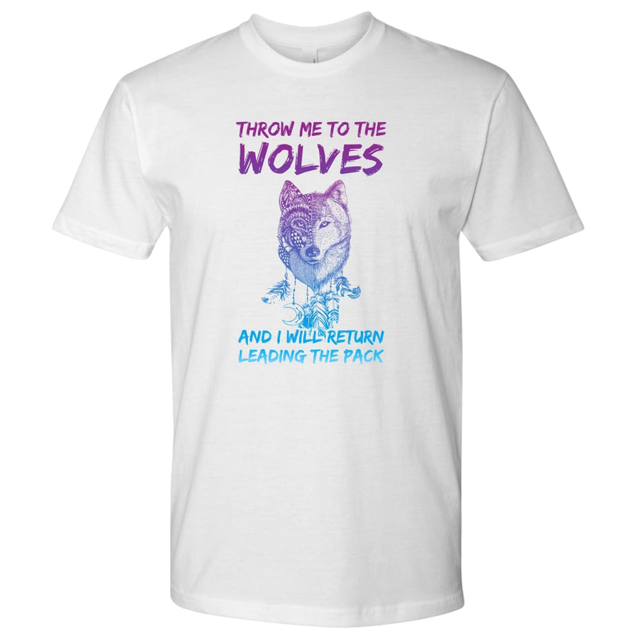 Leader Of The Pack - Next Level Mens Shirt / Black / S - T-Shirt