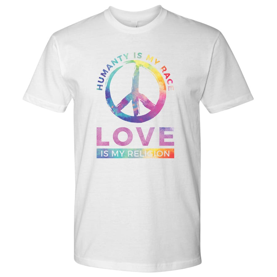 Love Is My Religion - Next Level Mens Shirt / Black / S - T-Shirt