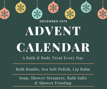 Load image into Gallery viewer, Bath and Body Product Advent Calendar