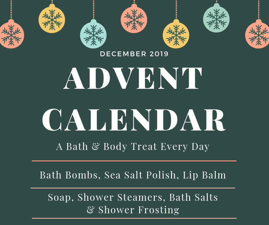 Bath and Body Product Advent Calendar