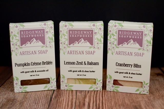 The Holiday Soaps Gift Set