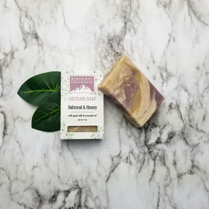 Oatmeal + Honey Soap