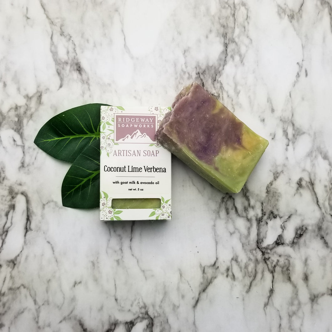 Coconut Lime Verbena Soap