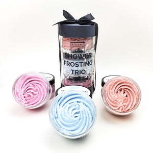 Shower Frosting Trio (Our 3 Top Sellers!) + Free Shipping