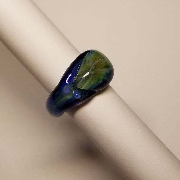 Size 5.25 glass ring