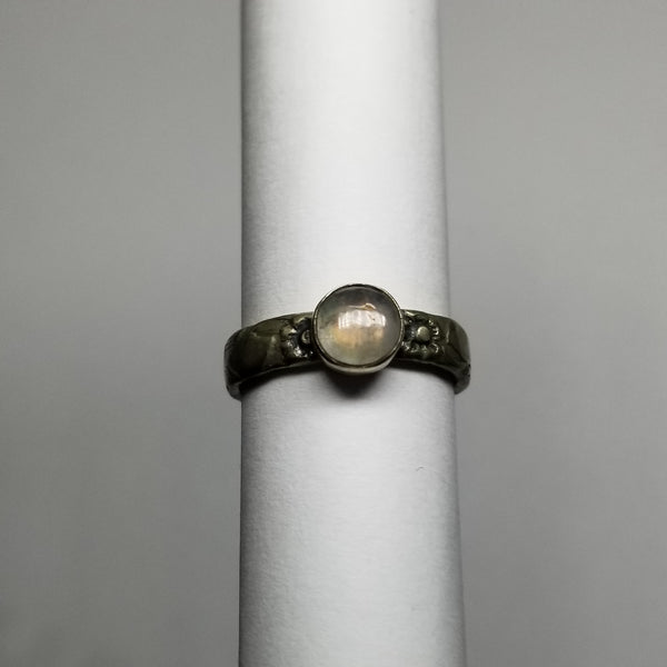 Moonstone size 6 ring