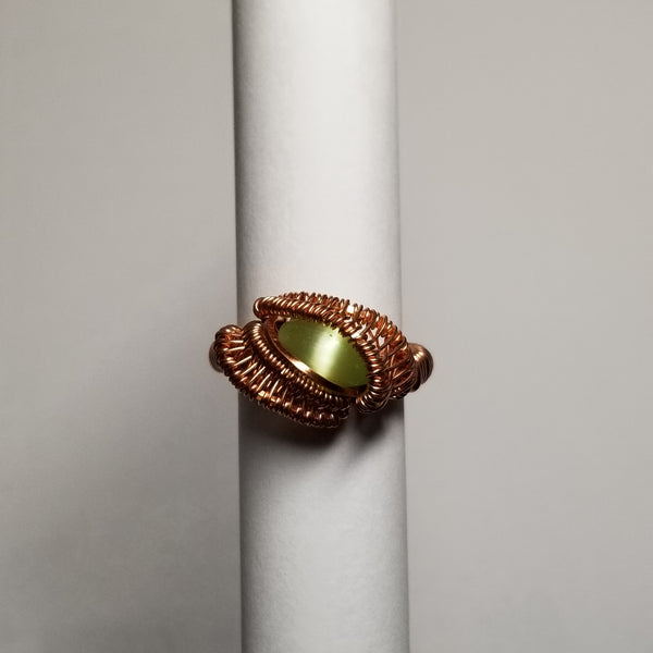Size 6 non-tarnish copper ring