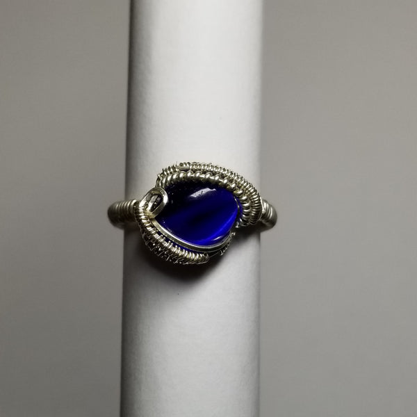 Size 7 silver ring