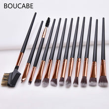 Load image into Gallery viewer, 12pcs Professional Eyes Makeup Brushes Sets