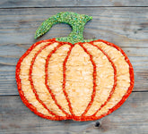 Color Crazy Pattern Harvest Pumpkin