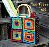 Color Crazy Pattern Mini Blossom Basket