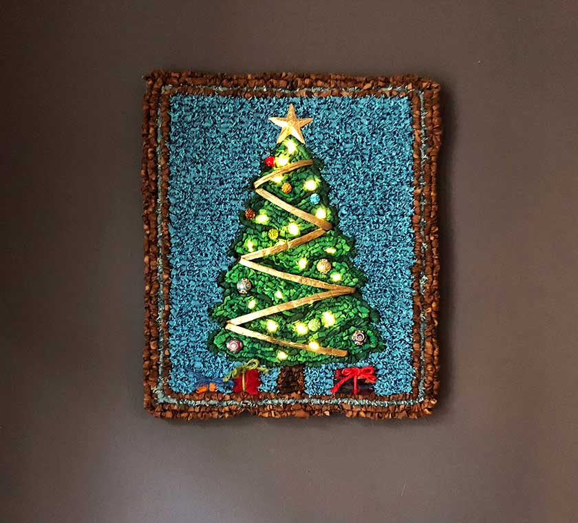 Color Crazy Starry Night Christmas Tree