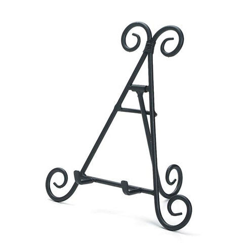easels decorative scroll black or gold color crazy