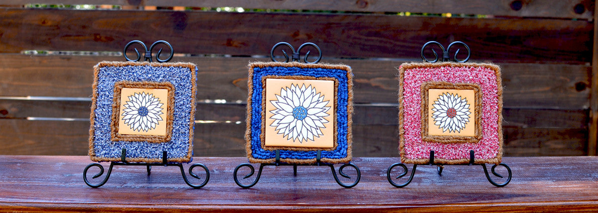 Color Crazy Dahlia Trivet Kits