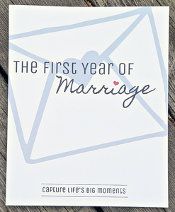 The First Year of Marriage (Non-Spiral Bound) journal- TGODesigns