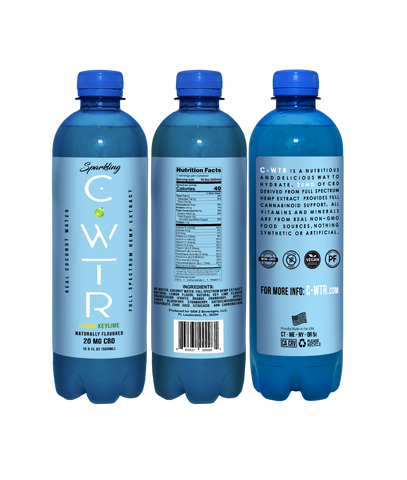 Case of C-WTR Sparkling