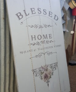 Blessed Home wall decor