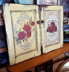 Set of 2 Little Cupboard Doors