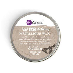 Art Alchemy METALLIQUE Wax 20ml OLD SILVER