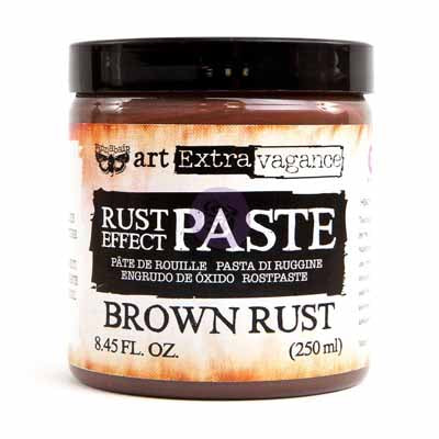 Patina Effect Paste BROWN-RUST