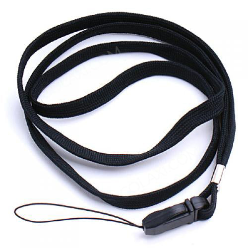 16inch Black Neck Strap Lanyard for Mp3 Cell Phone ID Card