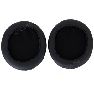A Pair of Black Replacement Ear Pads for Audio Technica ATH-M50 M50S M20 M30 ATH-SX1 Headphone