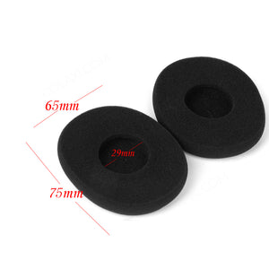 Black Replacement Ear Pads Ear Cushions for Logitech H800 H800 Headset