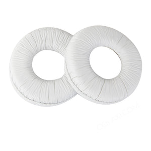 Ear Pads Cushions for Sony MDR ZX100 ZX300 Headset Headphone White