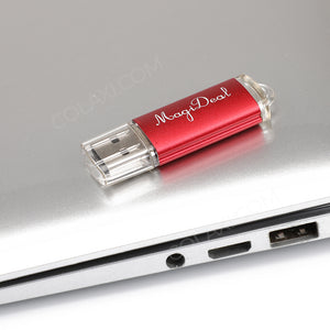 New Red 8GB USB 2.0 Flash Drive Storage Memory Stick Universal for PC