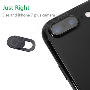 3 Pack Webcam Cover Camera Privacy Sticker for Phone,Laptop,Tablet T1 Black