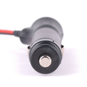 1.5m 12V 24V Car Cigarette Lighter Power Supply Cord Connector With Switch