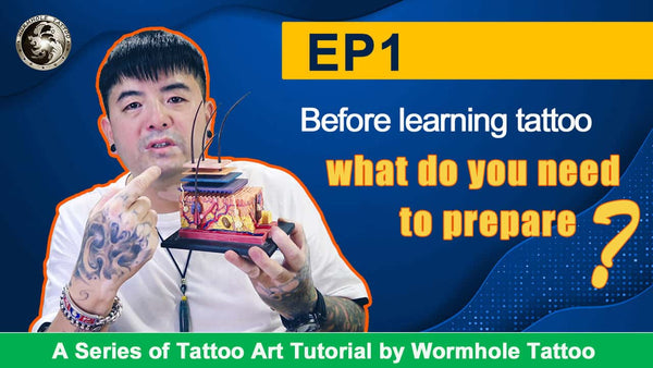 How to make tattoo  Preparation before learning to tattoo