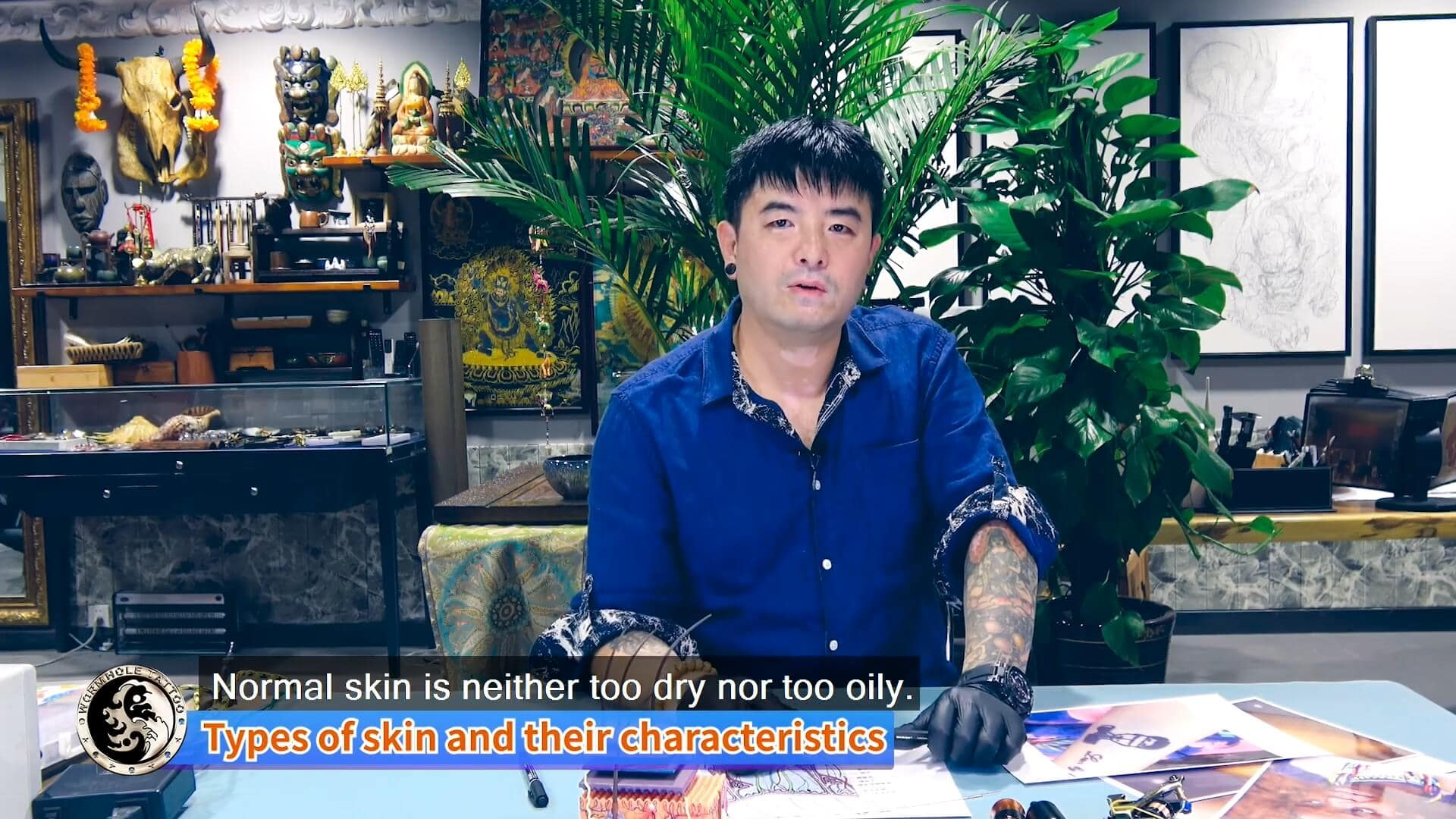 How to make a tattoo on different skins