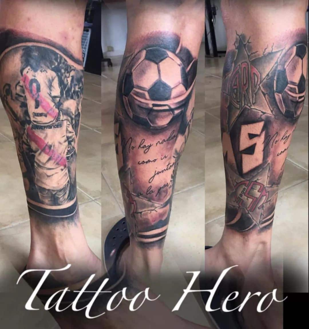 Riverbed Athletic Football Club tattoo