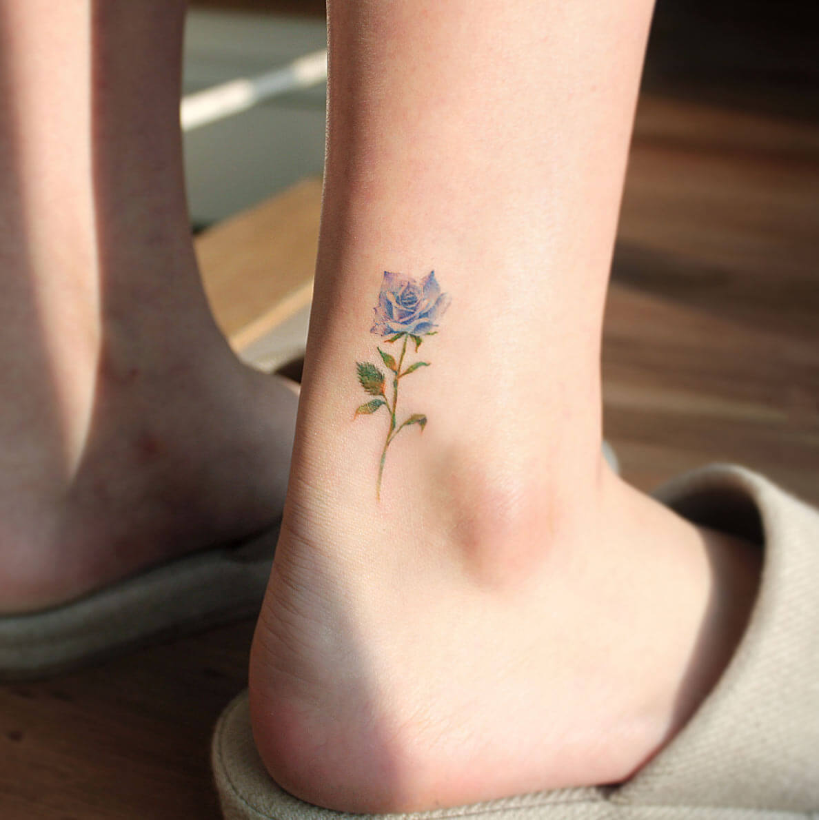 ankle tattoo for girls