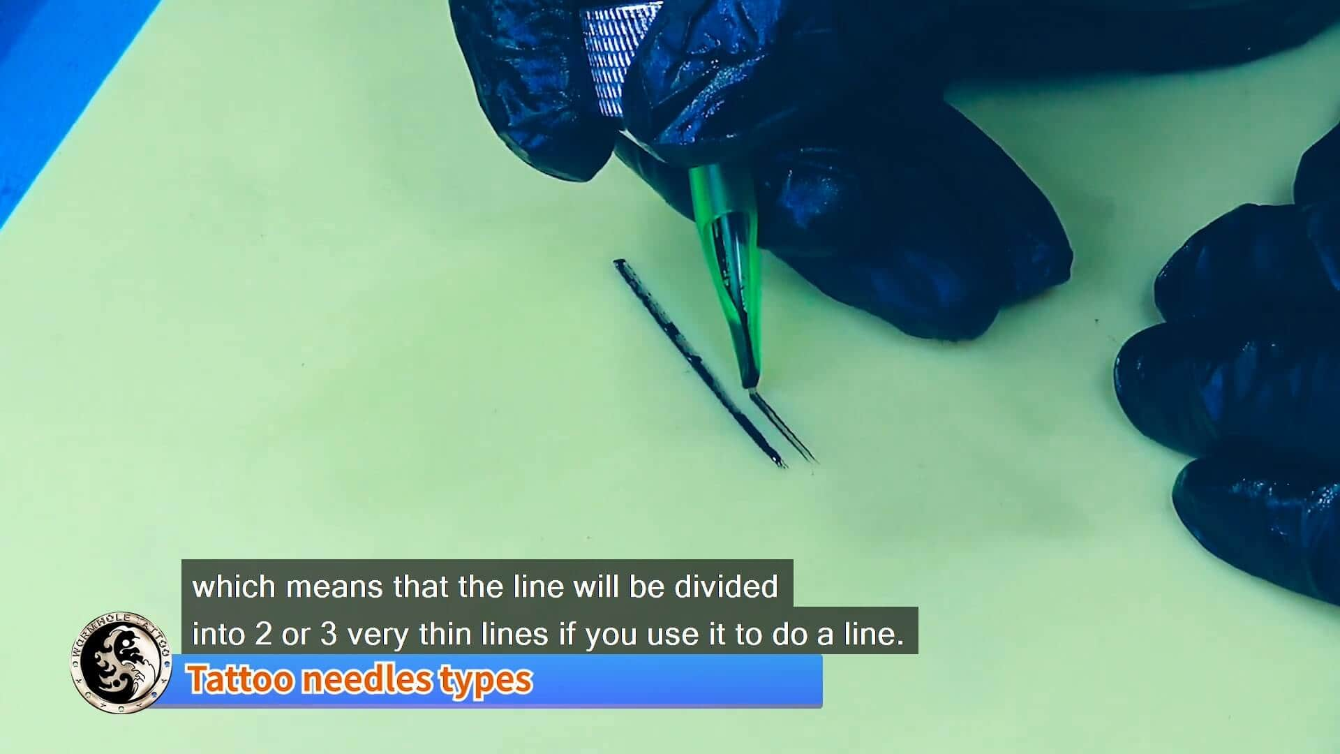 tattoo needle skill