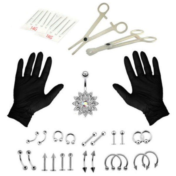 Piercing Kit 14G 16G Piercing Needles