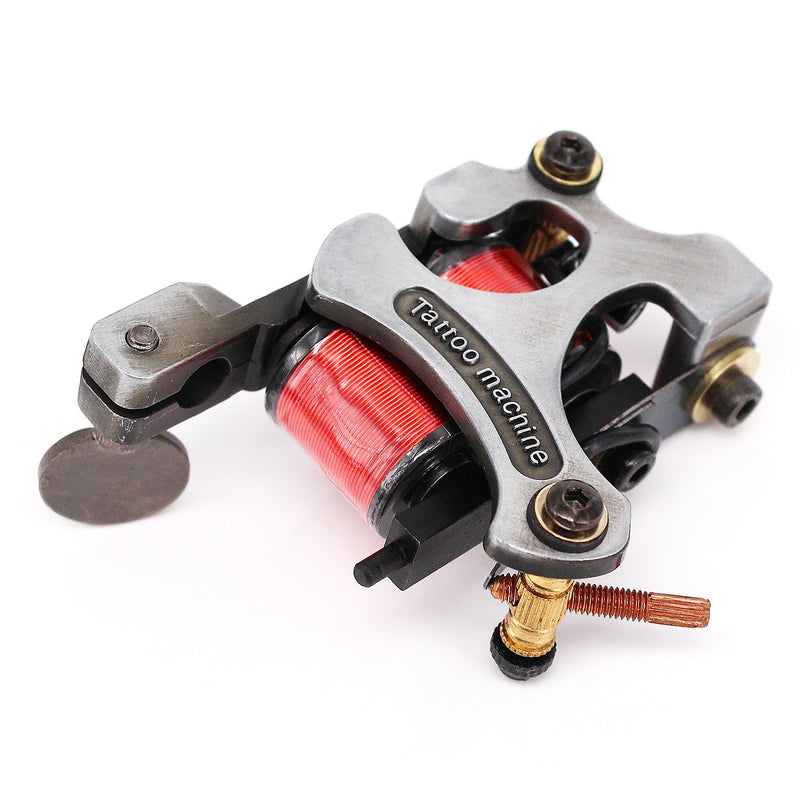 Wormhole Tattoo 1 pcs Red Coil 10 Warp Tattoo Machine for Liner - wormholetattoo