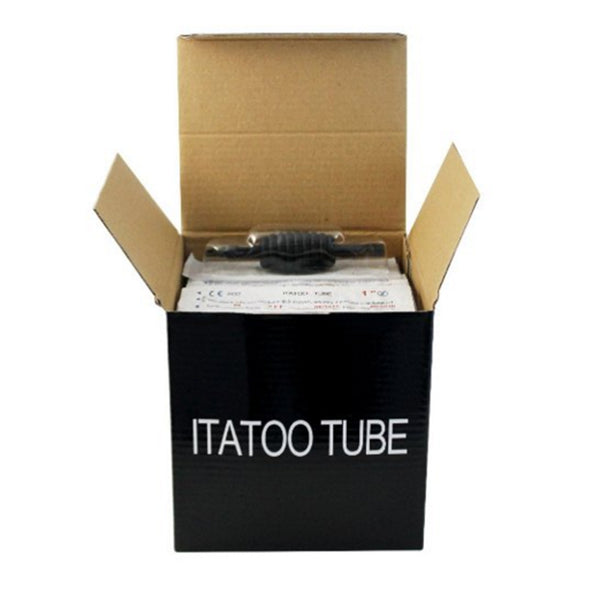 "25MM 1"" Assorted Disposable Tattoo Tube with Long Tip - wormholetattoo"