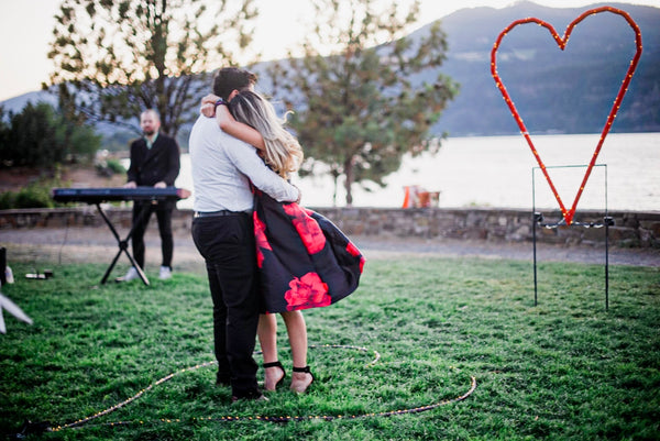 Kit Taylor wedding proposal Sam Smith Hood River Waterfront Park