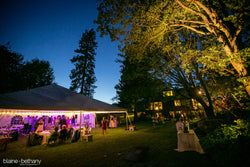 A wedding reception at The Griffin House in Hood River, OR